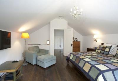1363 N Orange Grove Spaulding Square English Revival Bungalow Master Bedroom