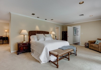 16056 Woodvale Rd Private Encino Country Estate Master Bedroom