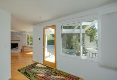 13888 Valley Vista Sherman Oaks Mid Century Modern 91423 Foyer