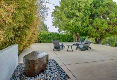 13888 Valley Vista Sherman Oaks Mid Century Modern 91423 Front Patio