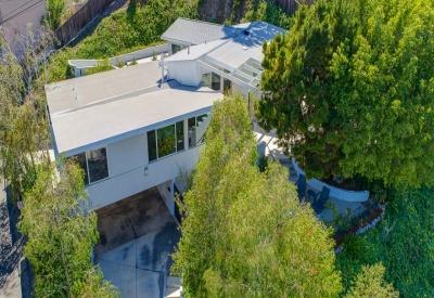 13888 Valley Vista Sherman Oaks Mid Century Modern 91423 Drone