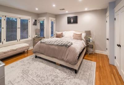 1441 N Ogden Drive Spaulding Square Bungalow Master Bedroom