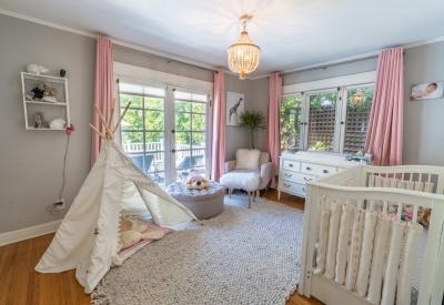 1441 N Ogden Drive Spaulding Square Bungalow Second Bedroom